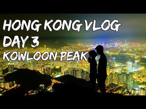 Hong Kong Vlog Day 3   Kowloon Peak