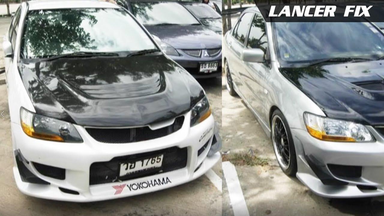 Lancer Fix 8 02 03 Mitsubishi Lancercedia Front Bumpers Youtube