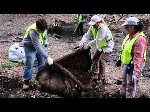 Coyote Creek 10 Ton Cleanup Day Video
