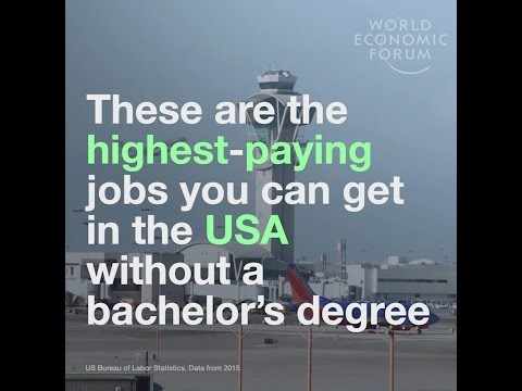 These are the highest paying jobs you can get in the USA without a bachelor's degree