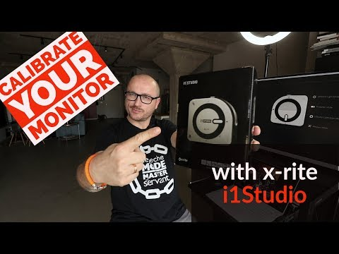 Tutorial: How to calibrate your monitor with x-rite i1Studio