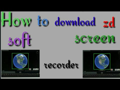 How to download ZD soft screen recorder