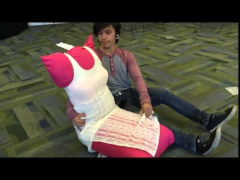 Girlfriend Pillow Rose AP English Vanessa & Lucero