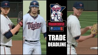 MLB The Show 16 (PS4) Minnesota Twins Franchise EP19 (Trade Deadline)