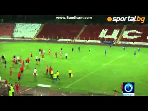Bulgaria vs Israel Football Match FIGHT