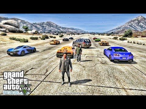 GTA 5 REAL LIFE CJ MOD #139 - THE RACE!!!(GTA 5 REAL LIFE MODS) thumbnail