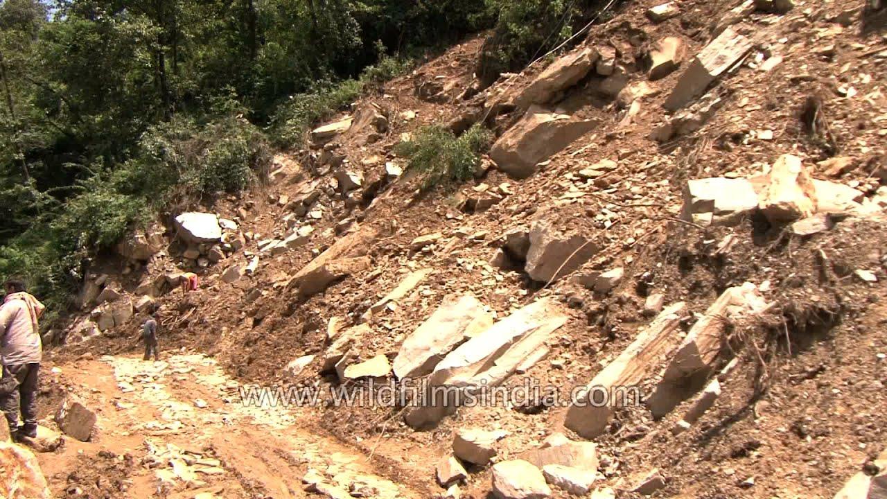 Hd wallpaper uttarakhand - Massive Landslides Broke Road Connectivity Post Uttarakhand Floods