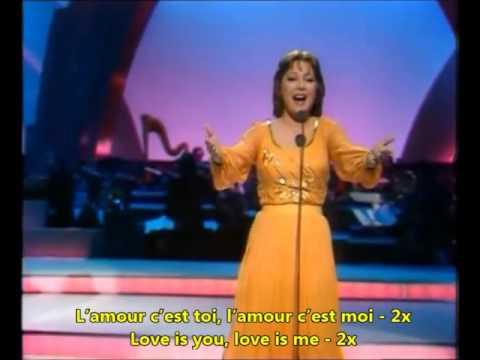 L'oiseau et l'enfant Marie Myriam: English French Lyrics