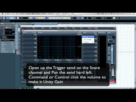 Slate Digital Trigger - Leakage Suppression Tutorial - Cubase 5