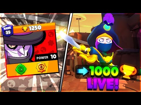 Can We Push Mortis To 1000 Trophies On Brawl Ball LIVE?