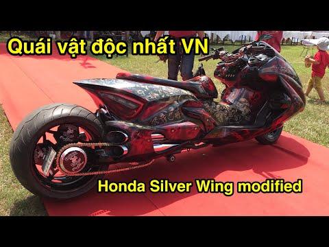 Siêu quái Vật độc nhất vô nhị từ Honda Silver Wing độ - CuongMotor