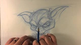 Video How to draw: Star Wars character Yoda download MP3, 3GP, MP4, WEBM, AVI, FLV November 2017