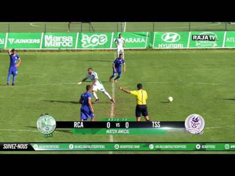 Résumé du match RCA 2 - 0 TSS (Match amical) ملخص المباراة