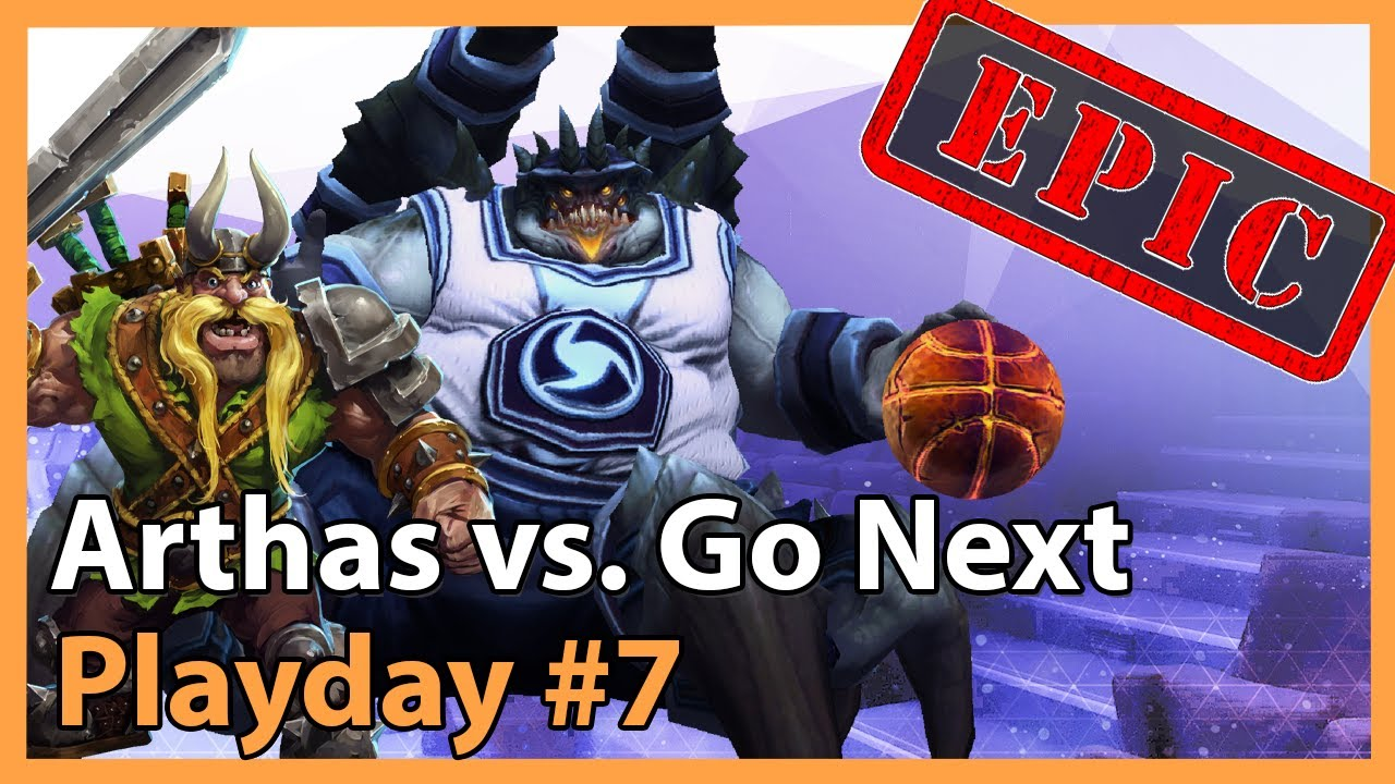 Arthas vs. Go Next - MC - Heroes of the Storm Tournament
