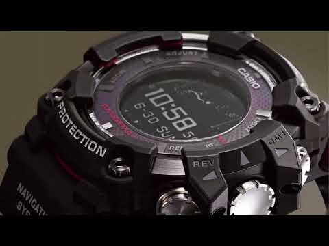 Casio RANGEMAN GPR-B1000, Watch with the world's first GPS navigation solar system