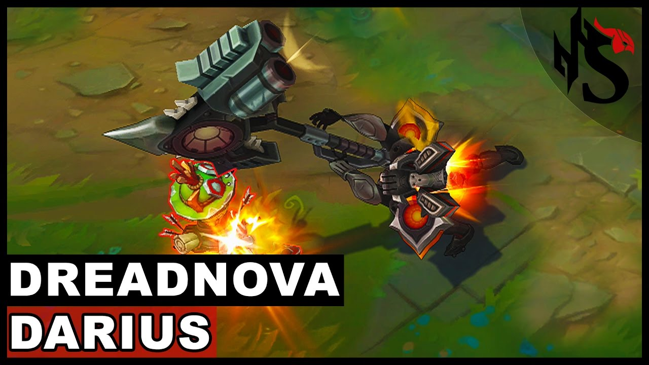 Dreadnova Darius Skin Spotlight (League of Legends) - YouTube