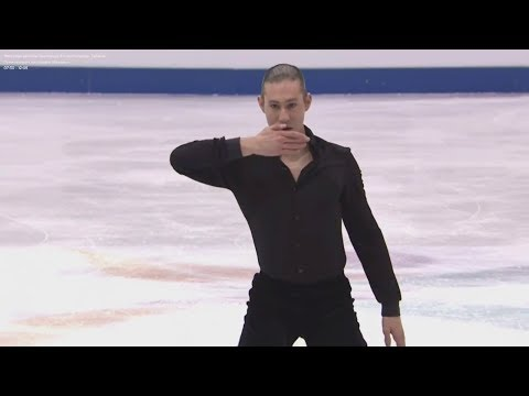 19 USA Jason BROWN - 2018 Four Continents - Mens FS