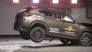 2019 Mazda CX 8 Crash Test EURO NCAP Ratings