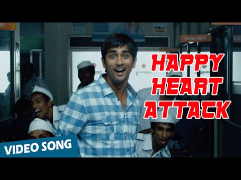 Happy Heart Attack Official Video Song | Love Failure | Siddarth | Amala Paul