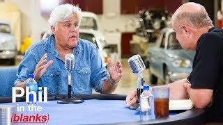 Jay Leno Discusses His Legendary Work Ethic – Next 'Phil In The Blanks'
