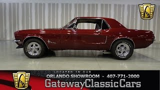 1968 Ford Mustang Gateway Classic Cars Orlando #379