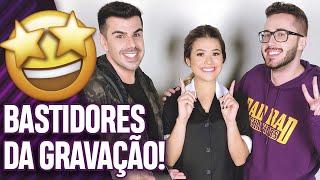 PARTICIPAMOS DO PROGRAMA DA MAISA COM BECA MILANO E NADJA HADDAD DO BAKE OFF! | Virou Festa