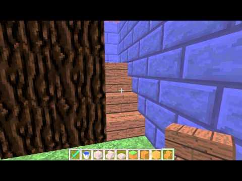 Minecraft petit guide pour architecte minecraftien ep 08 escalier en co - Escalier colimacon petit diametre ...