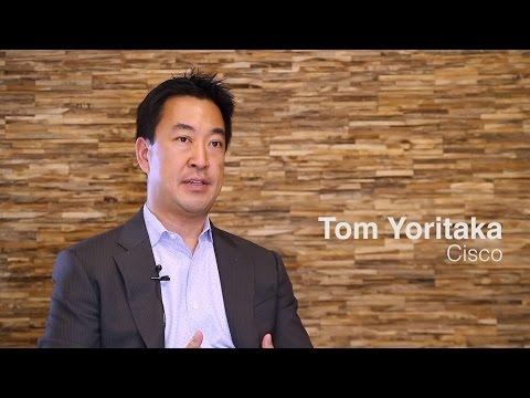 Tom Yoritaka, Cisco - Europe's Corporate Startup Stars