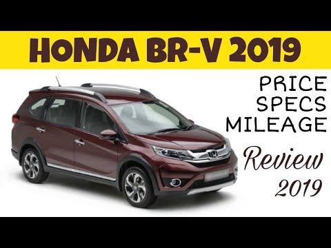 Honda BRV 2019 Overview | Price | Specs | Mileage.