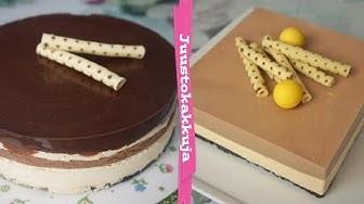 Snickers   Suklaa-kinuski   Mango-passion juustokakut