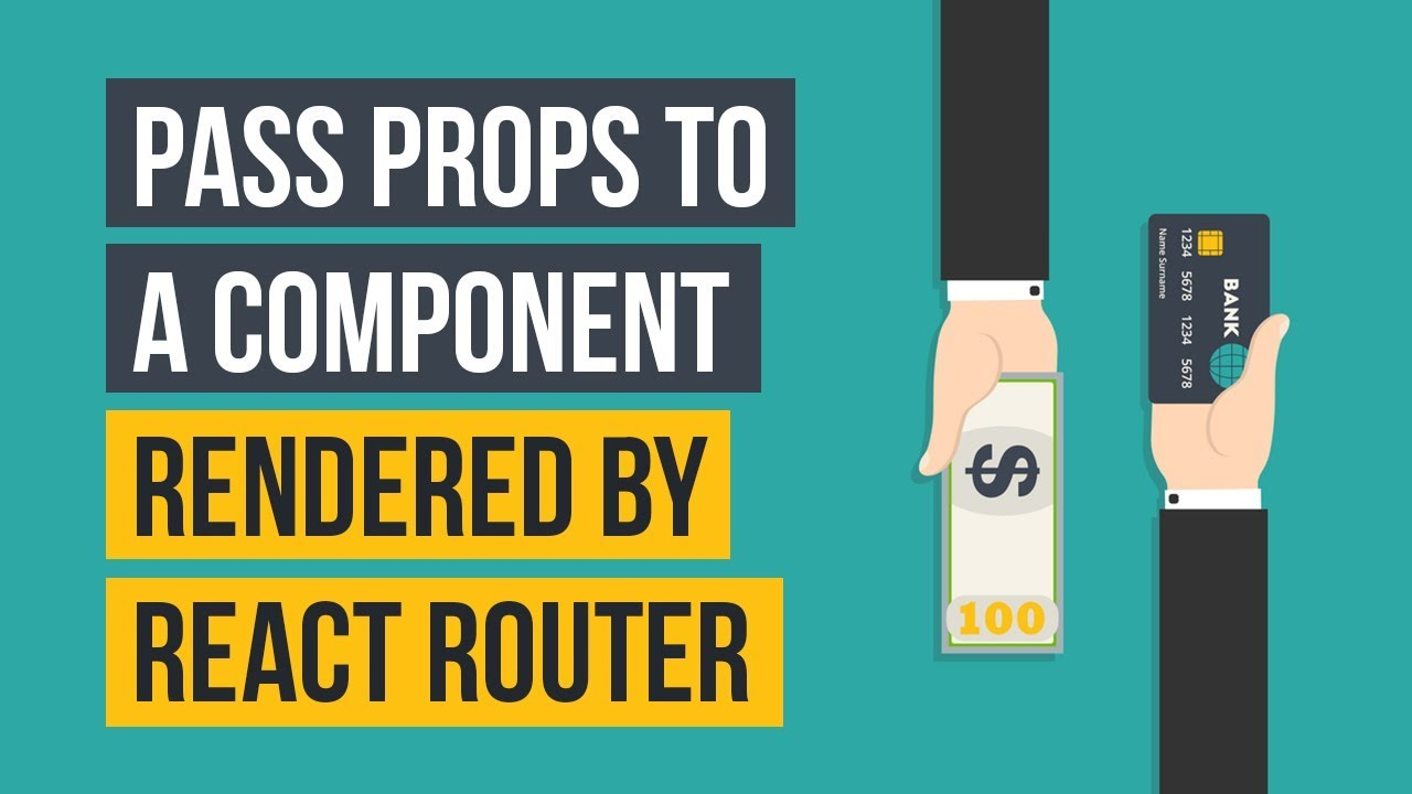 Pass props to a component rendered by React Router