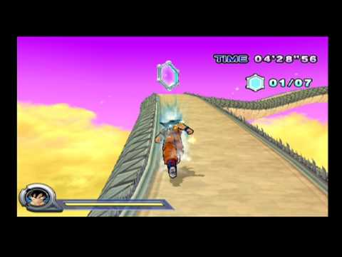 Dragon Ball Z Infinite World PS2 Snake Way Gameplay