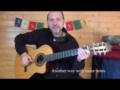 Om mani padme hum - Tutorial Guitarra