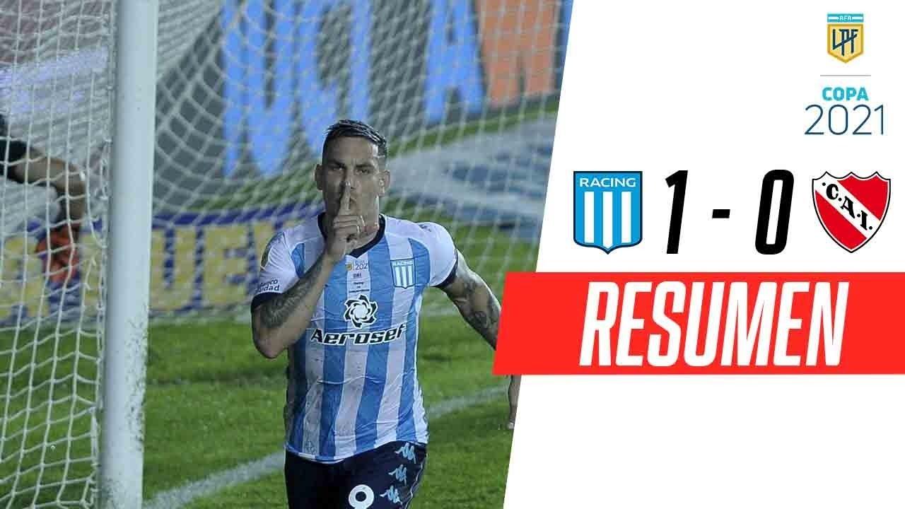 ¡LA ACADEMIA SE QUEDÓ CON EL CLÁSICO EN UN FINAL MUY CALIENTE!   Racing 1-0 Independiente   RESUMEN