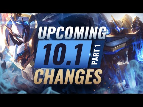 MASSIVE CHANGES: NEW CHAMPION SETT + Upcoming Changes In Patch 10.1 – League Of Legends