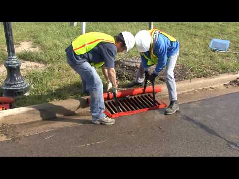 Gutter Inlet Filter | Dandy Curb Sack | Sediment Control