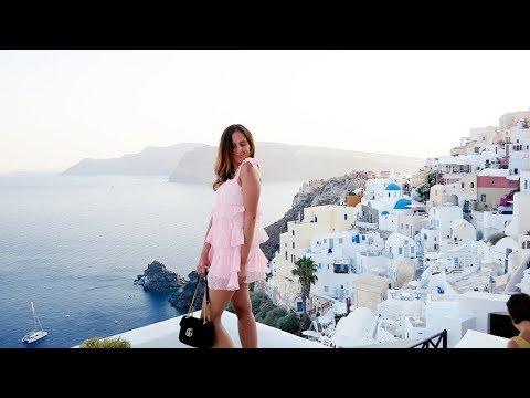 J w PODRÓŻY - SANTORINI z Littlemooonster96 | greckie wakacje