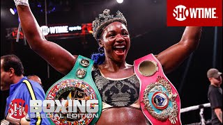 Claressa Shields After Historic Win: 'I'm The GWOAT!' | SHOWTIME BOXING SPECIAL EDITION