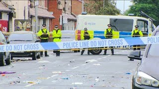 10 injured in shooting in Manchester, England