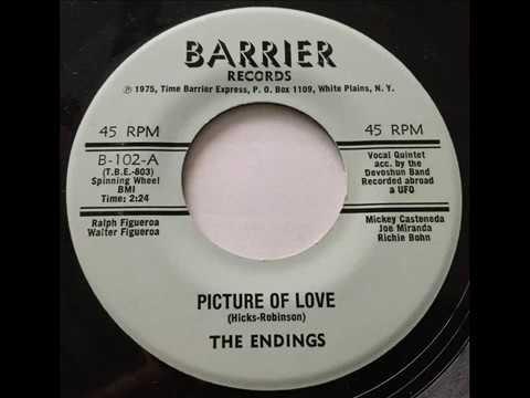 Endings - Picture Of Love / I Still Remember (Barrier 102) 1975