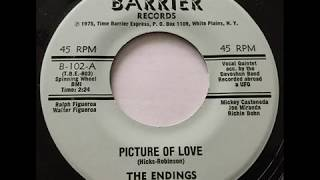 Endings - Picture Of Love / I Still Remember (Barrier 102) 1975