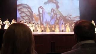 """Ансамбль """"Лезгинка""""-""""Приветственный танец""""- Юбилейный концерт 55 лет 7/12/2013"""