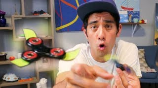 MAKE YOUR FIDGET SPINNER FLY AND LEVITATE TRICK thumbnail
