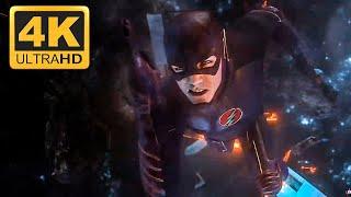Флэш пытается остановить сингулярность.The Flash:1x23 (ULTRA-HD 4K)