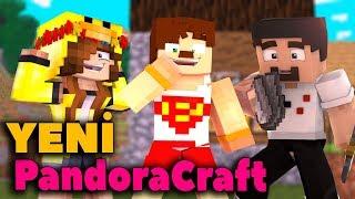 Bİlİnmeyen Yetenek - Minecraft Modlu Survival Pandoracraft #1