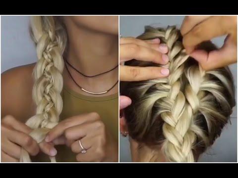 30 Лучших Причесок для средних волос! 👍💙 ИНСТРУКЦИИ! 💡😍