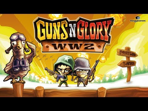 Guns'n'Glory WW2 - Official Gameplay Trailer // Android