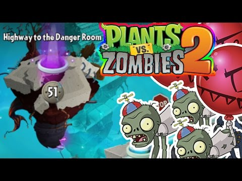 Highway to the Danger Room Level 50-70 | Plants Vs. Zombies 2 | Livestream Episode 12