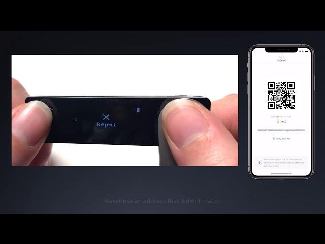 Ledger Nano X: Receiving Crypto Assets