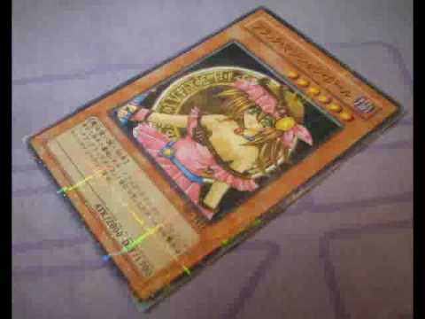 Naked dark magician girl card